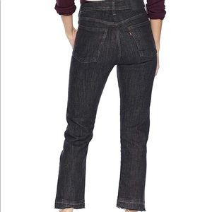 Levis Wedgie Straight High Rise Jeans Trendy